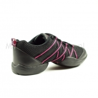 Bloch Criss Cross SO524 Danssneaker Zwart en Roze