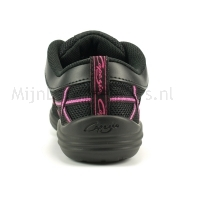 Capezio Web DS19 Dames Danssneakers met Splitzool en Veters