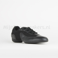 SoDanca danssneaker DK30 Zwart Vetermodel