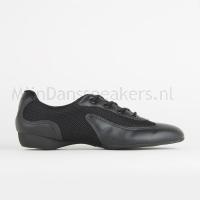 SoDanca danssneaker DK30 Zwart Zijkant